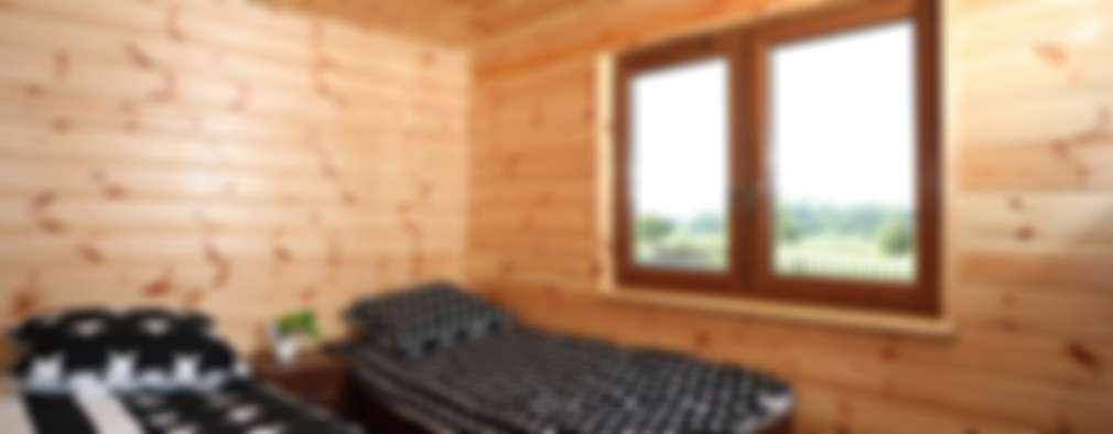 غرفة نوم تنفيذ DMK Budownictwo Dariusz Dziuba Sp. K., Mobilne Domki Letniskowe i Całoroczne