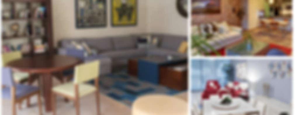 15 salas y comedores pequeños que comparten espacio con estilo