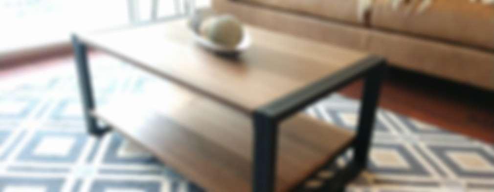 Mobiliario Salón:  de estilo  por Divan ingenieria