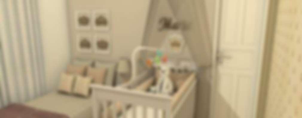 غرف الرضع تنفيذ AT arquitetos