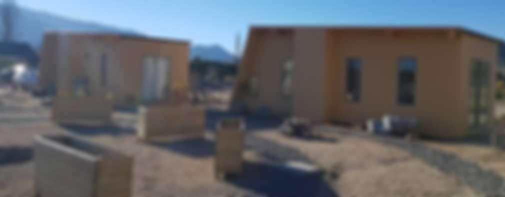 CASAS MODULARES: Casas prefabricadas de estilo  por ALLEGRE ARQUITECTOS