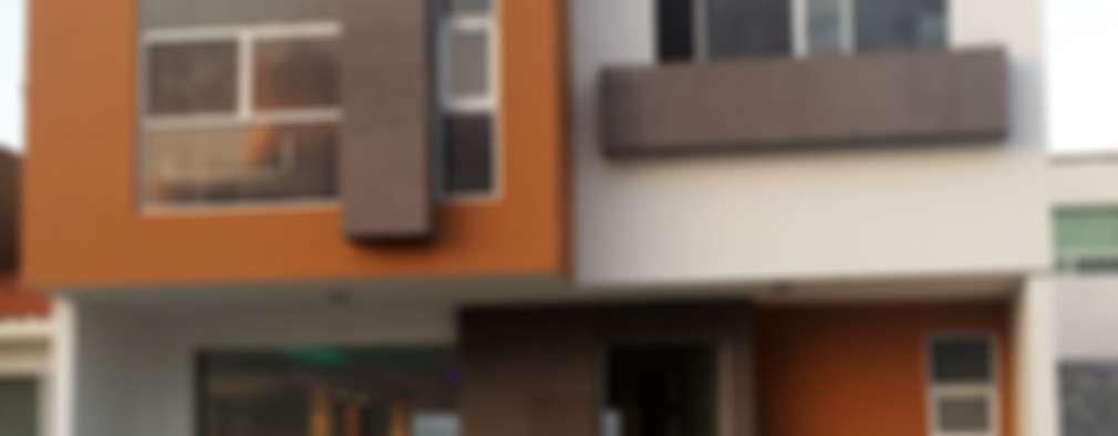 CASA SEGUNDA CERRADA: Casas de estilo moderno por DEC Arquitectos