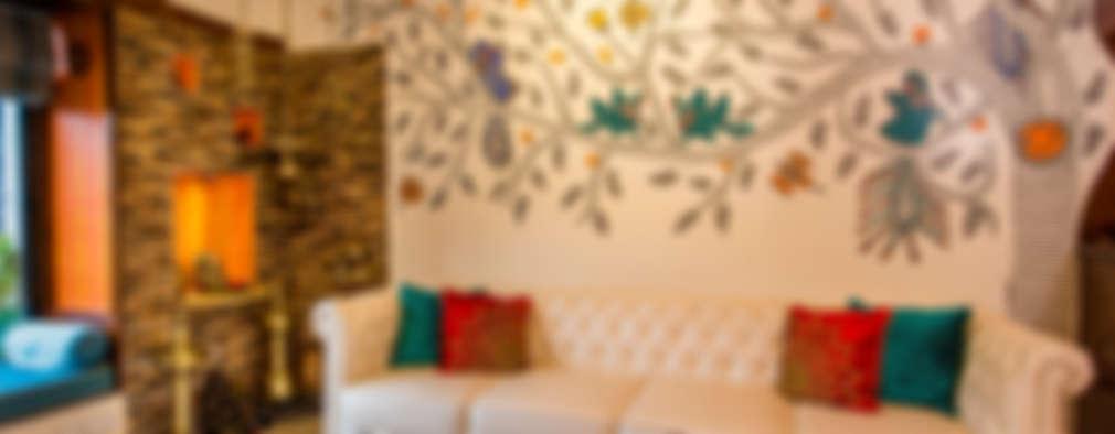 Chembur Renovation: classic Living room by Rennovate Home Solutions pvt ltd