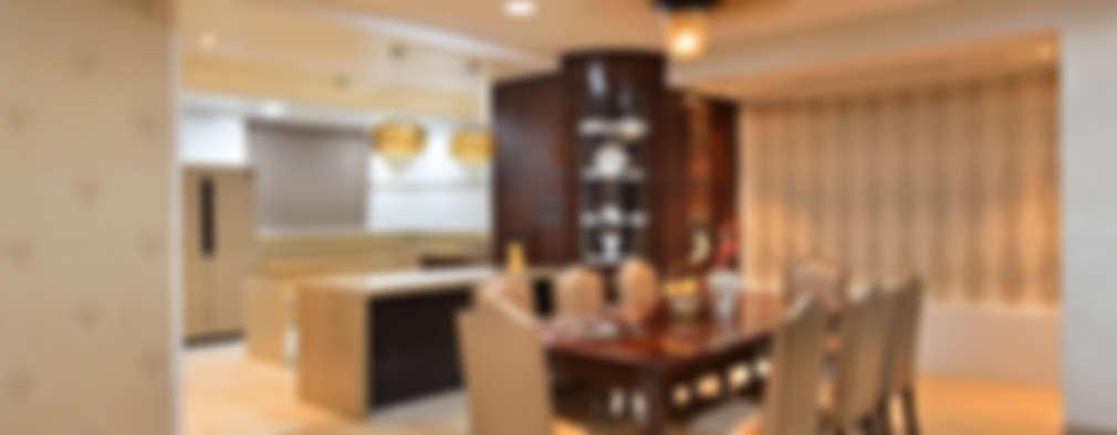 DAHANU- VIJAY GHODAWAT: modern Dining room by smstudio