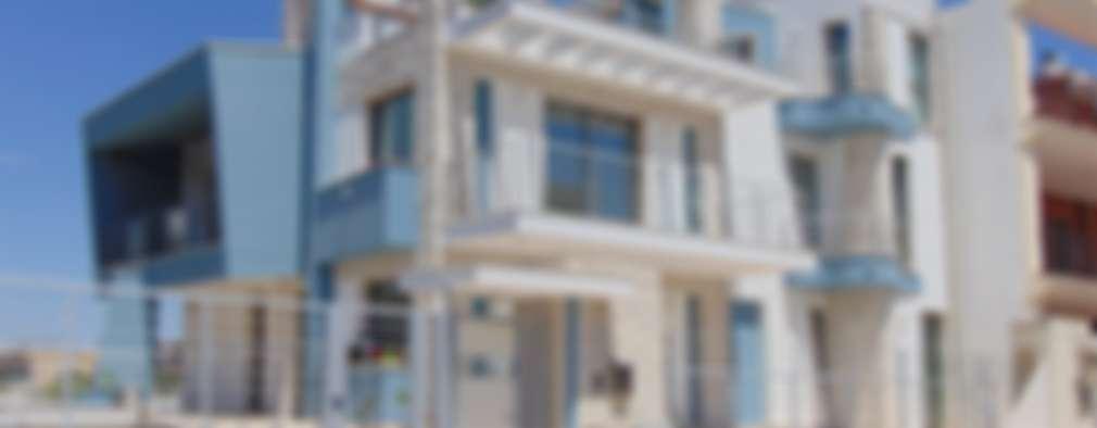 Villa 1: Villa In Stile Di Studio Di Architettura E Design Giovanni Scopece