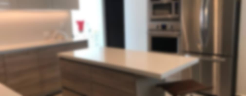 Cocina: Cocinas equipadas de estilo  por Athalia cocinas y Carpinteria