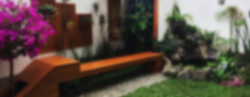 Diseño de Jardines: Jardines de estilo moderno por Quetzal Jardines