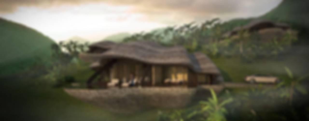 The Shells Tropische Häuser von designyougo - architects and designers Tropisch