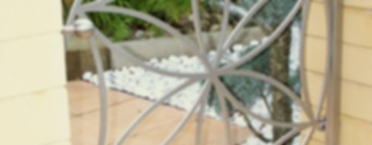 Modern Stainless Steel Gates Edelstahl Atelier Crouse: Modern garden