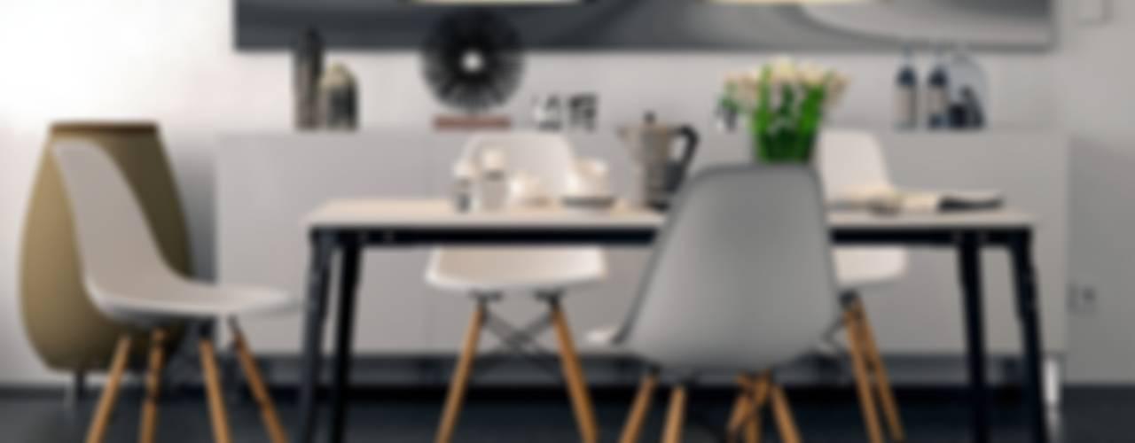 3D-Visualisierung einer Essecke Moderne Esszimmer von planungsdetail.de GmbH Modern