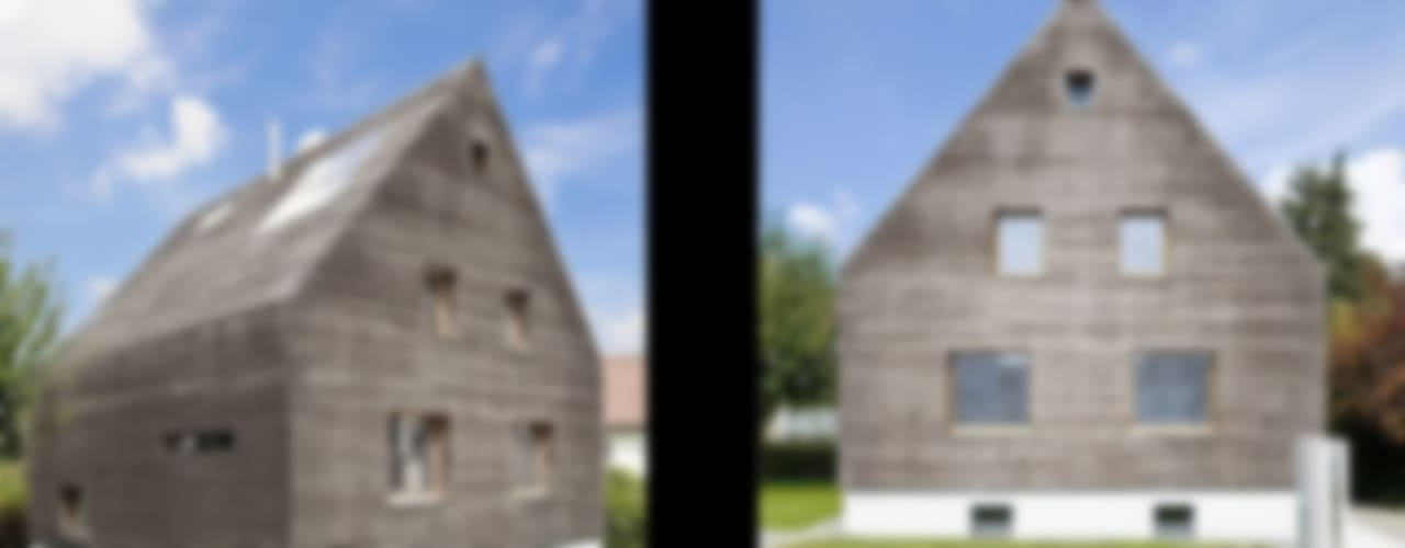 Projekty,  Domy zaprojektowane przez [lu:p] Architektur GmbH