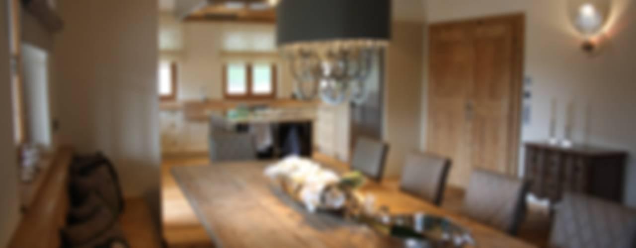 Comedores de estilo rural por Egger & Egger Immobilien