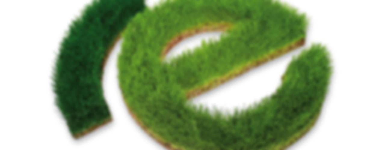 Schrift aus Gras von Grassland