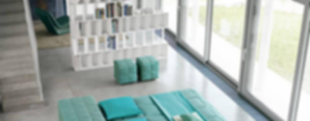 Salas de estar ecléticas por RAUMAX GmbH Eclético