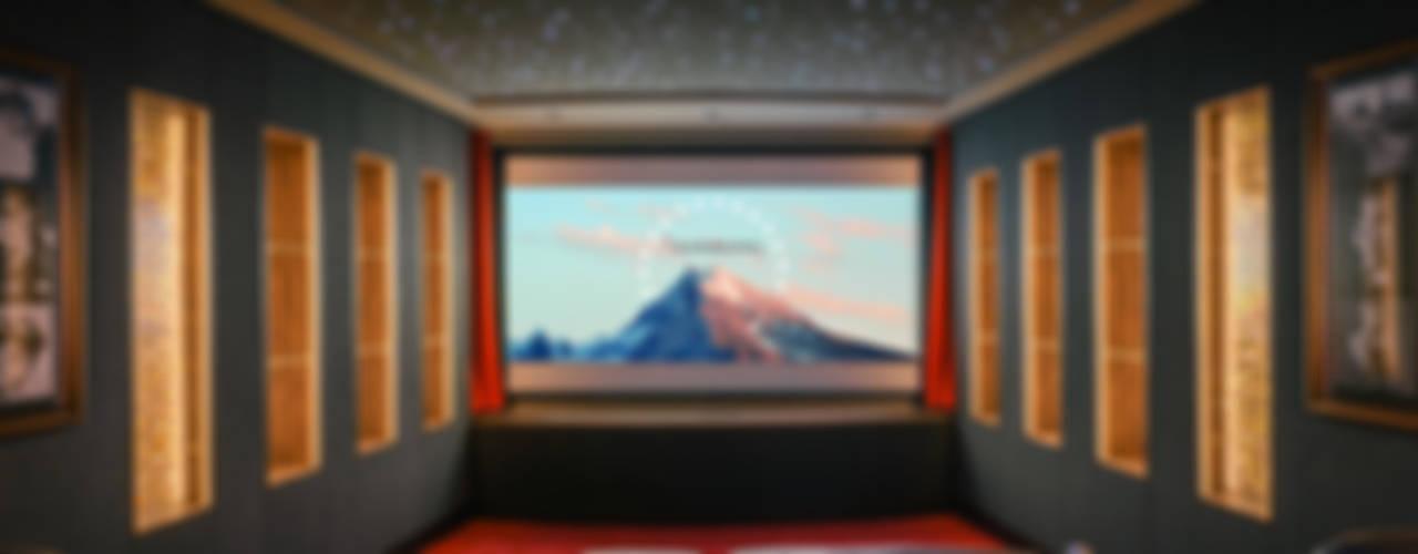 Salas multimedia de estilo clásico de raumdeuter GbR Clásico