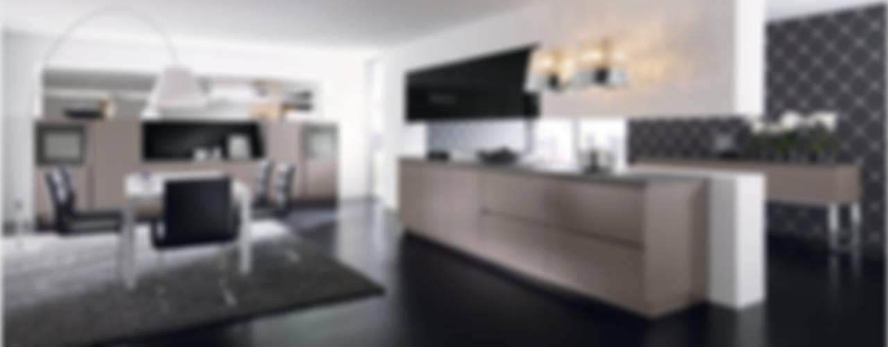 Küchenfronten - grau Moderne Küchen von ALNO AG Modern
