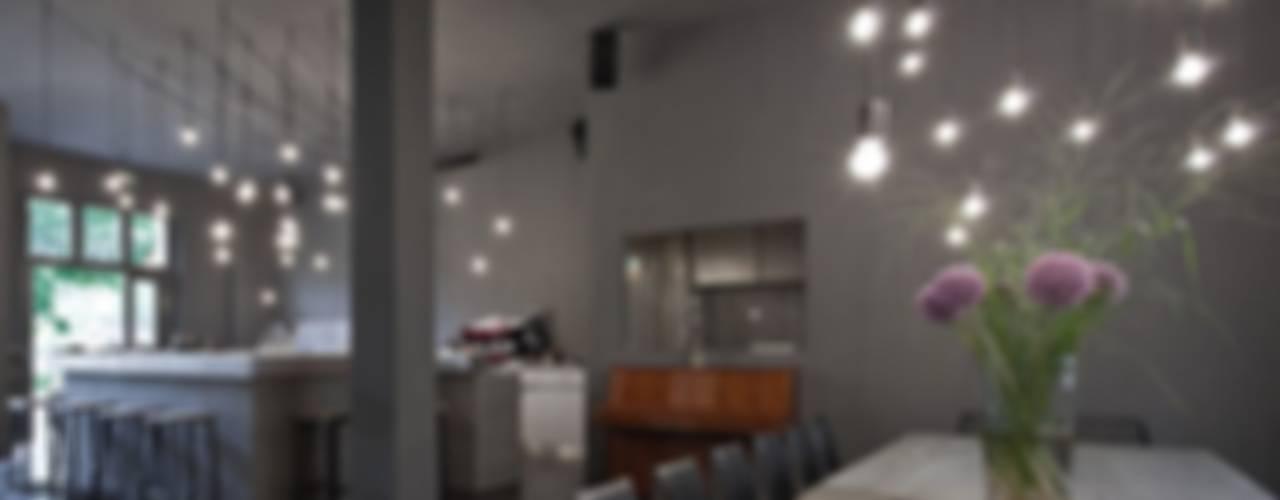 Tin Restaurant Bar Industriale Gastronomie von studio karhard® Industrial