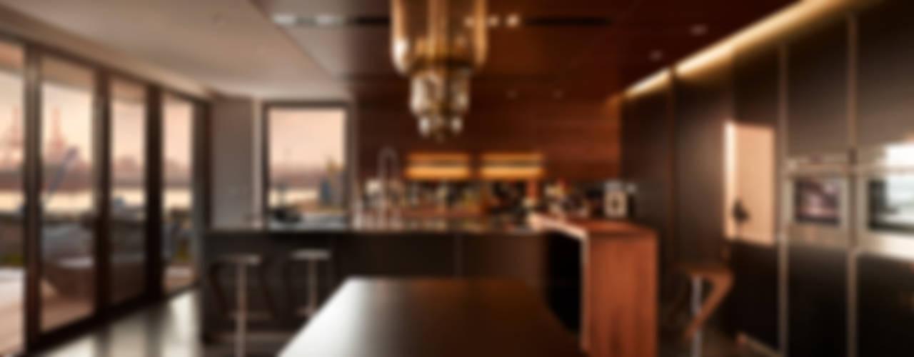 Salle à manger moderne par LEICHT Küchen AG Moderne