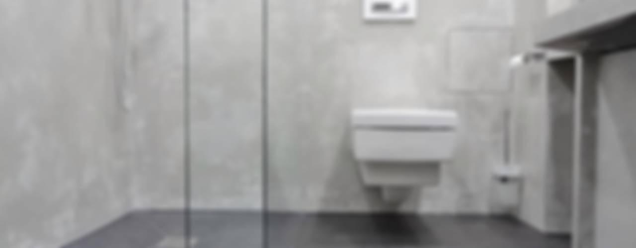Wände mit Charakter Ванная комната в стиле модерн