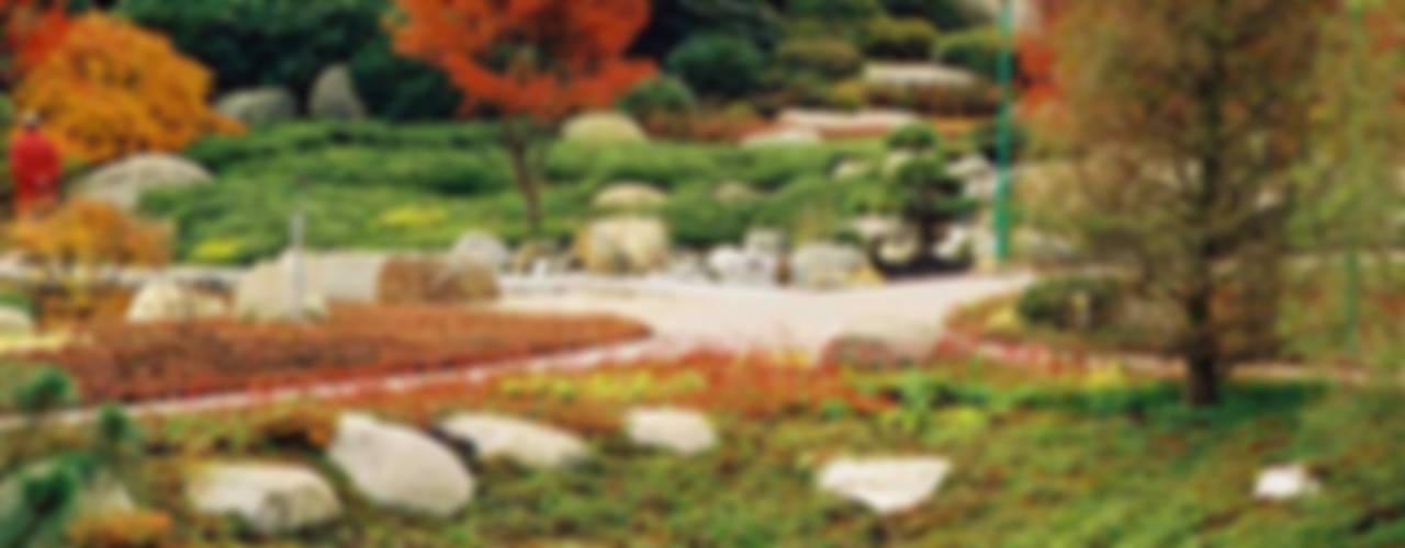 Blumenpark in Rain am Lech Moderner Garten von Kirchner Garten & Teich GmbH Modern