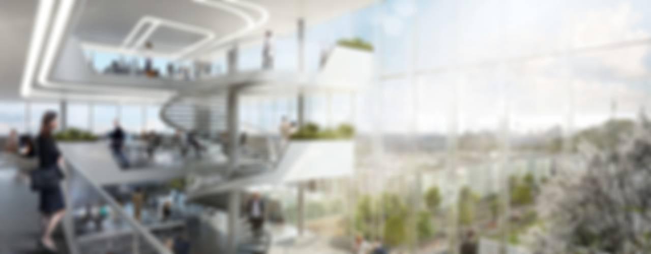 Centros comerciales modernos de Moritz Gruppe GmbH Moderno
