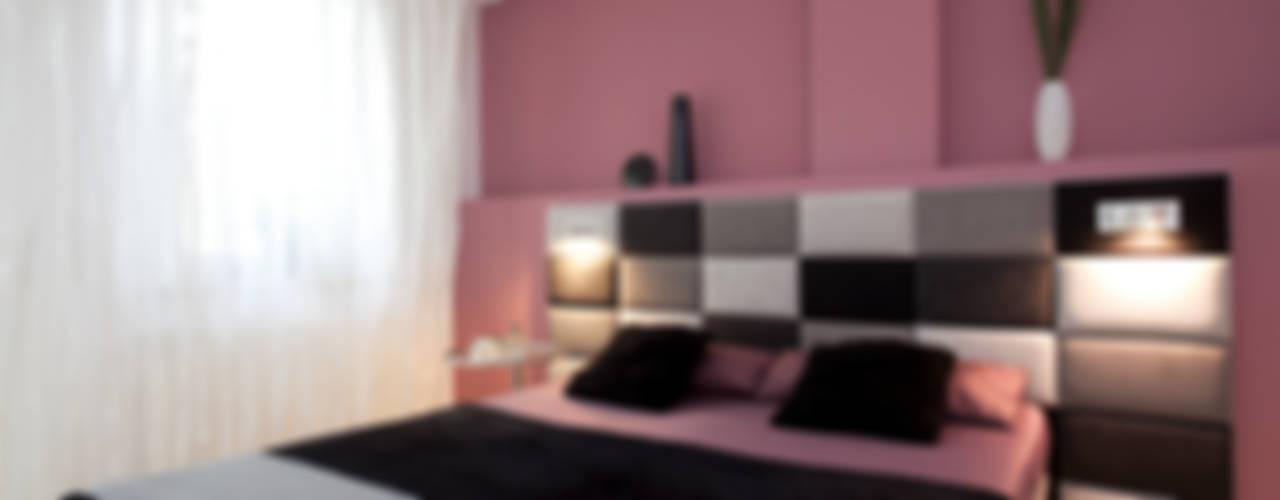 Camera da letto eclettica di schulz.rooms Eclettico