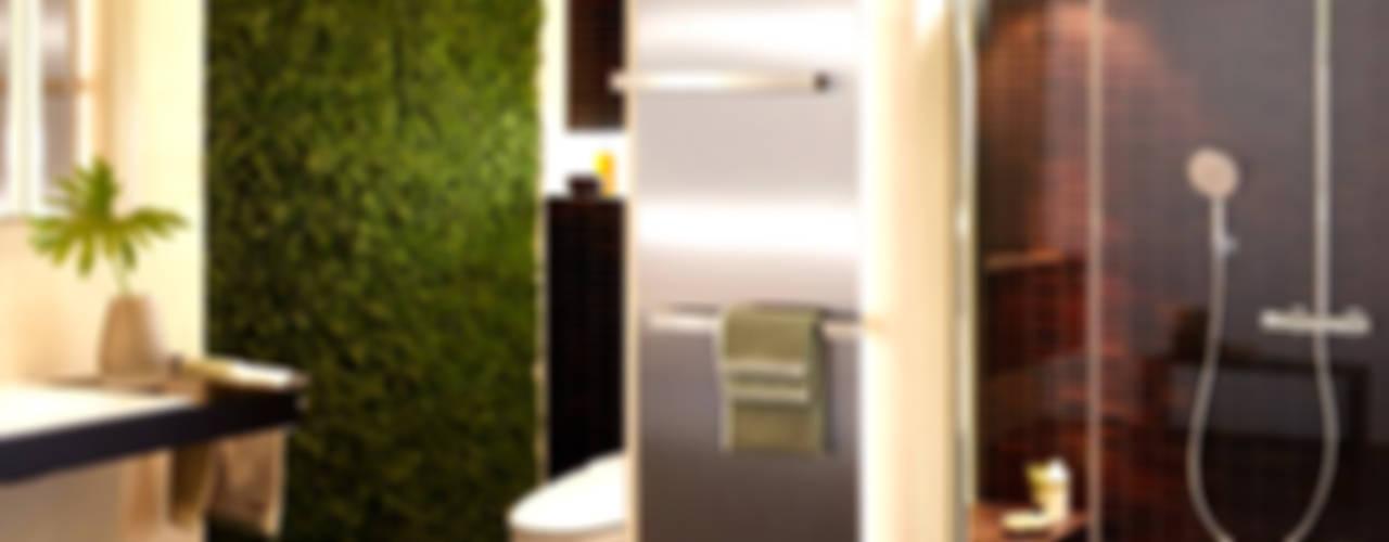 Raumbegrünung für Wellness Oasen/ Evergreen Badezimmer von Freund GmbH