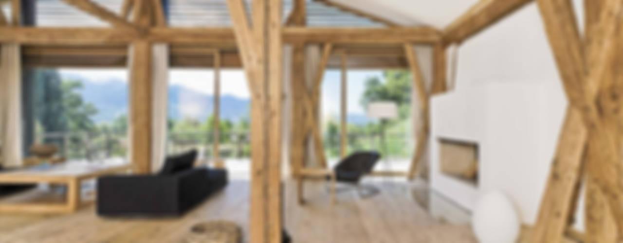 Salones de estilo ecléctico de GALLIST ARCHITEKTEN GmbH Ecléctico