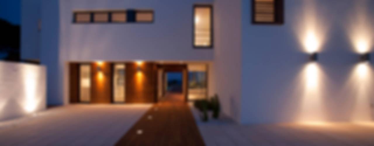 Casas modernas por dom arquitectura Moderno