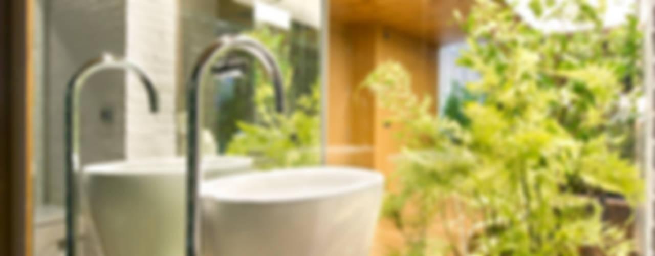 Rustic style bathroom by Egue y Seta Rustic