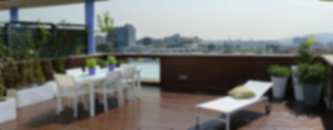 Mediterrane balkons, veranda's en terrassen van Taller de Paisatge Mediterraan