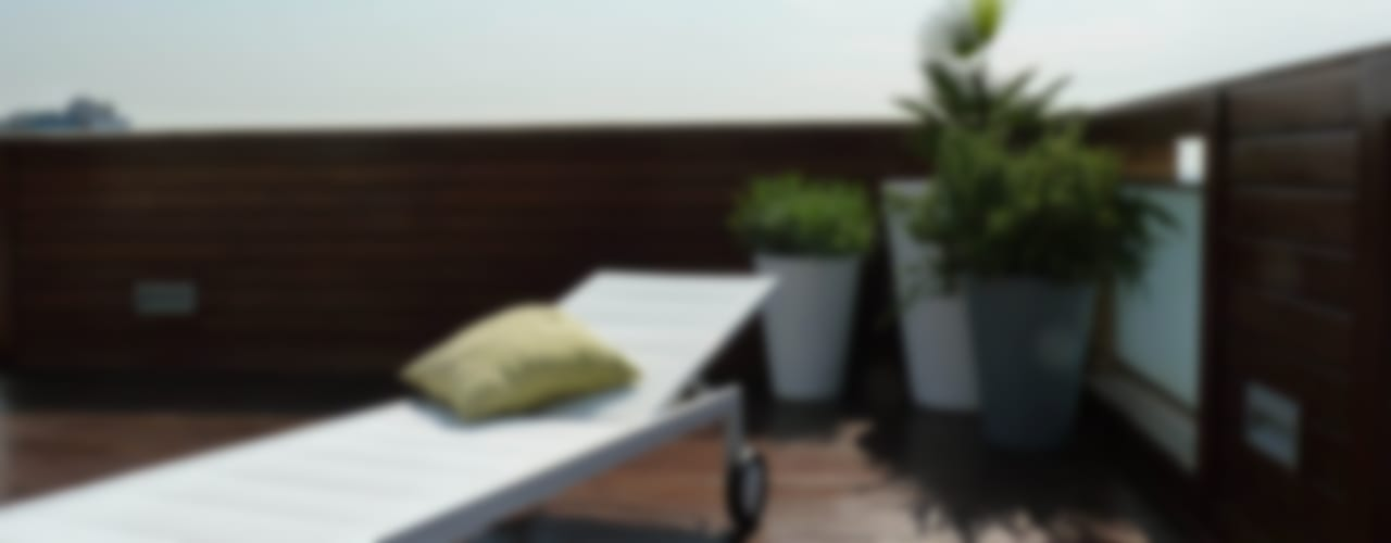 Taller de Paisatge Mediterraner Balkon, Veranda & Terrasse