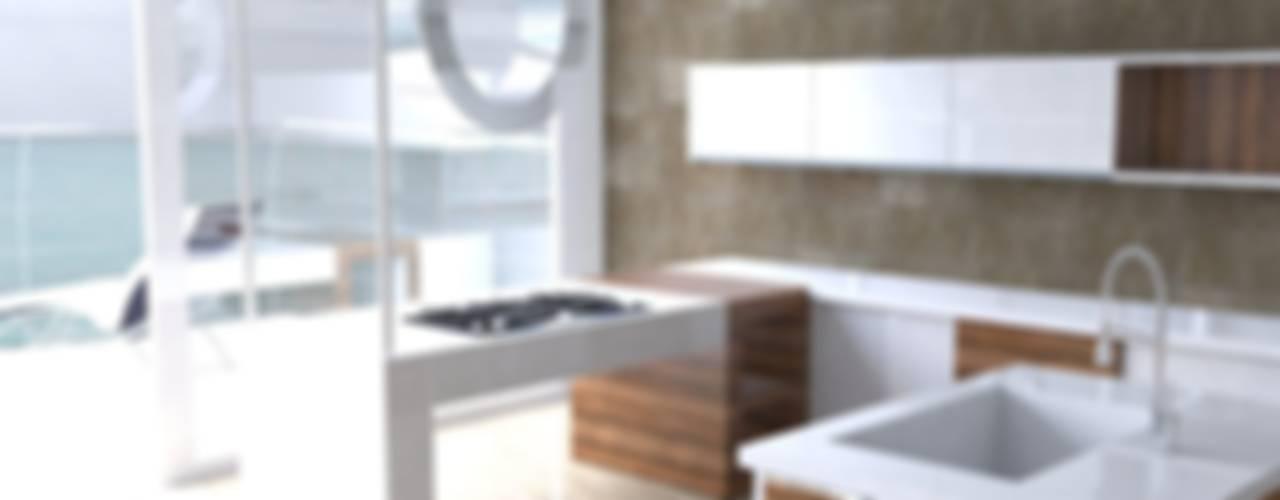 Modern kitchen by MUMARQ ARQUITECTURA E INTERIORISMO Modern