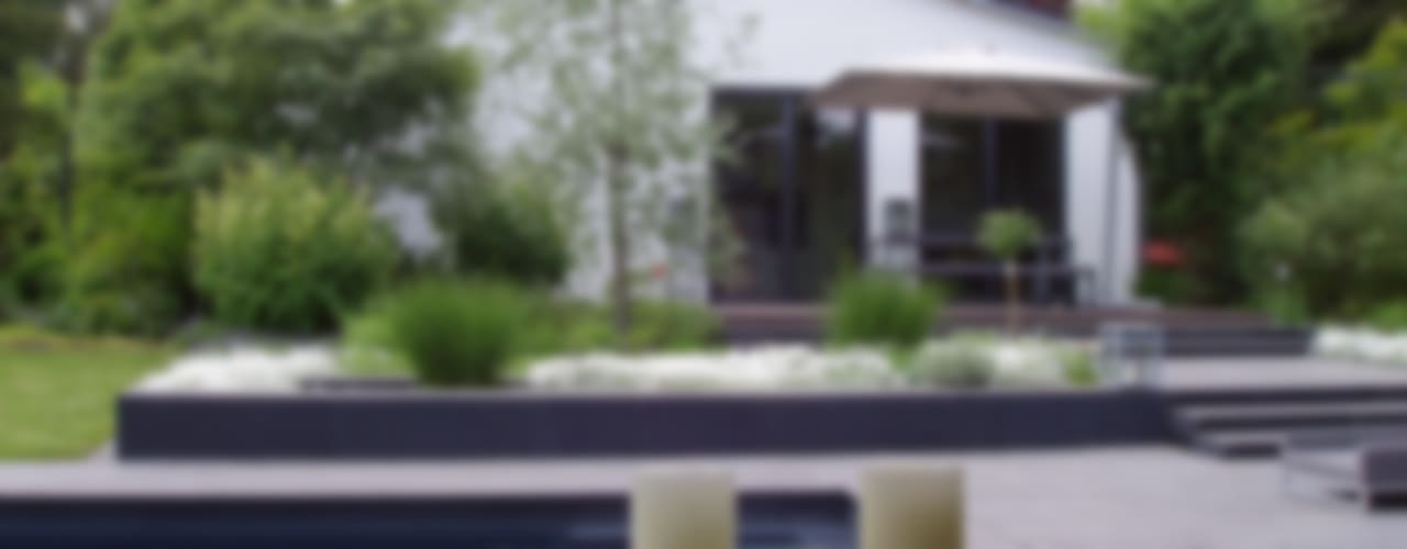 Jardines de estilo  de L-A-E LandschaftsArchitektur Ehrig & Partner
