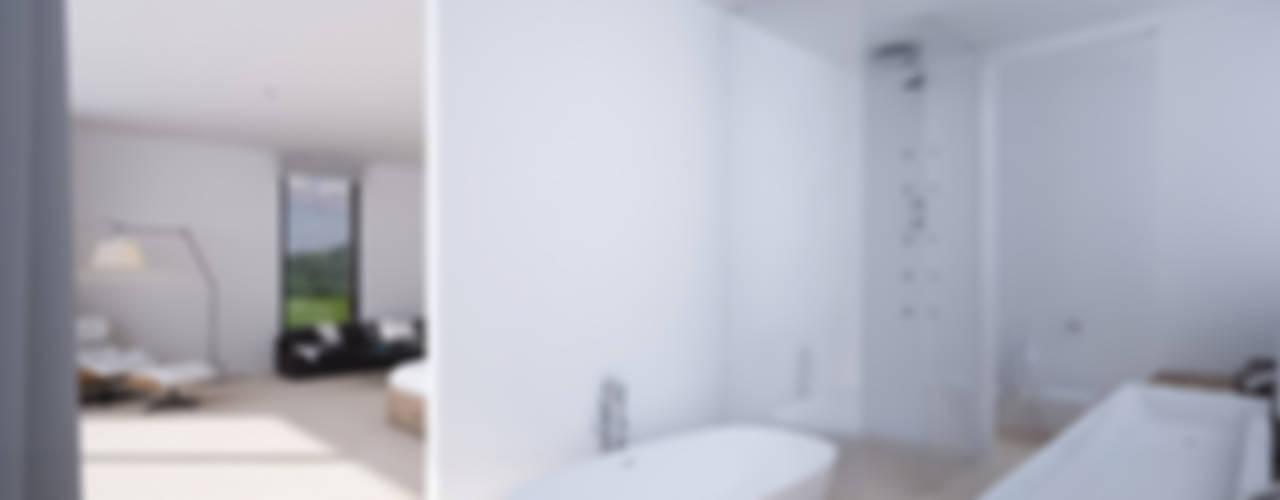 DUE Architecture & Design Casas de banho modernas