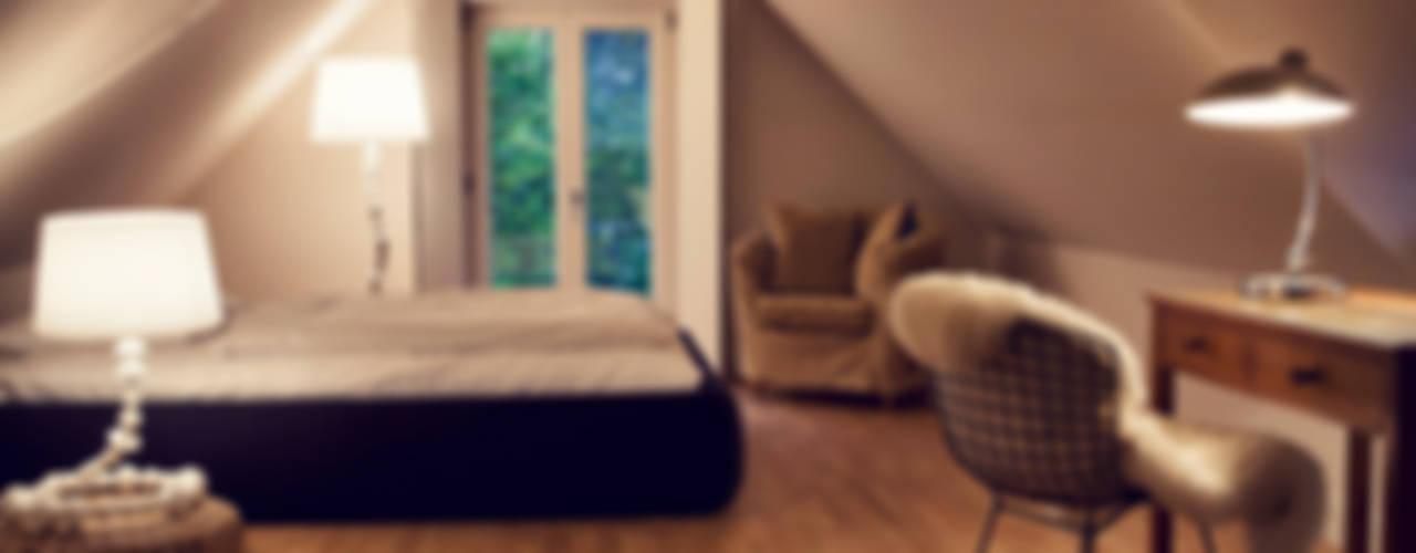 Спальня в стиле модерн от Heike Gebhard Wohnen Модерн