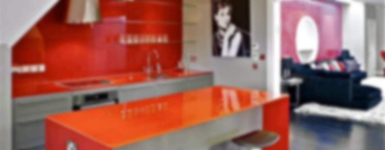Hampstead クラシックデザインの キッチン の Fisher ID クラシック