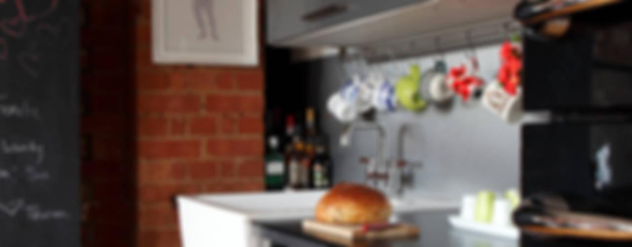 Встроенные кухни в . Автор – Cassidy Hughes Interior Design, Лофт