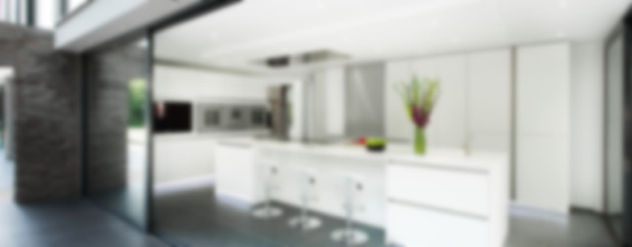 Synergy of Light and Space:  Kitchen by The Myers Touch, Modern