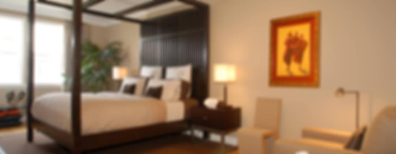 Palma de Mallorca Home Nowoczesna sypialnia od Lewis & Co Nowoczesny