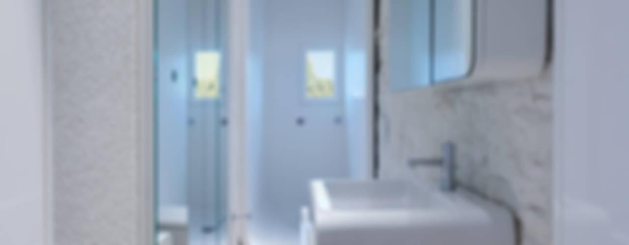 Casas de banho modernas por Simone Micheli Architectural Hero Moderno