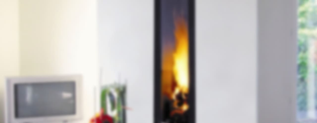 Ifocus Fireplace por Diligence International Ltd Moderno