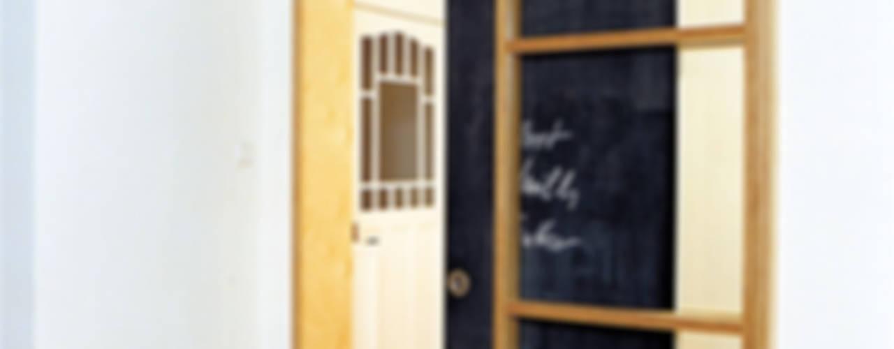 pintu geser oleh and8 Architekten Aisslinger + Bracht, Skandinavia