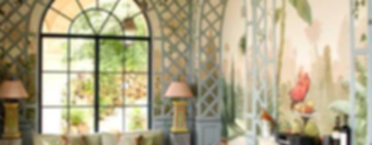 Salas de estar clássicas por Illusionen mit Farbe Clássico
