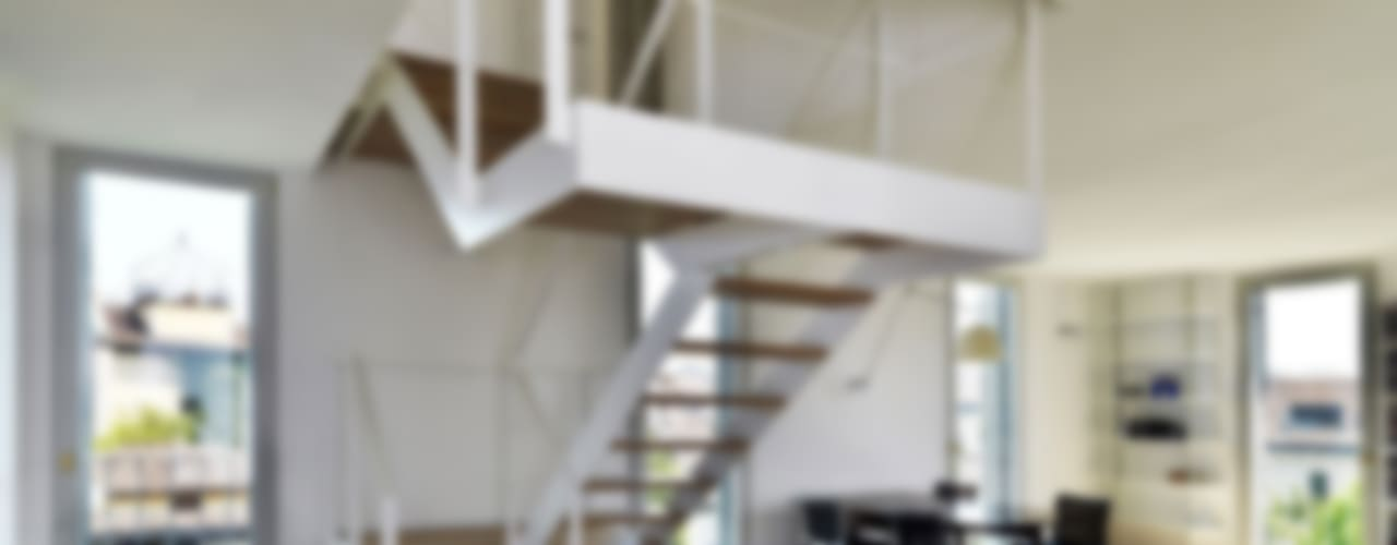 Salon moderne par FTA Filippo Taidelli Architetto Moderne