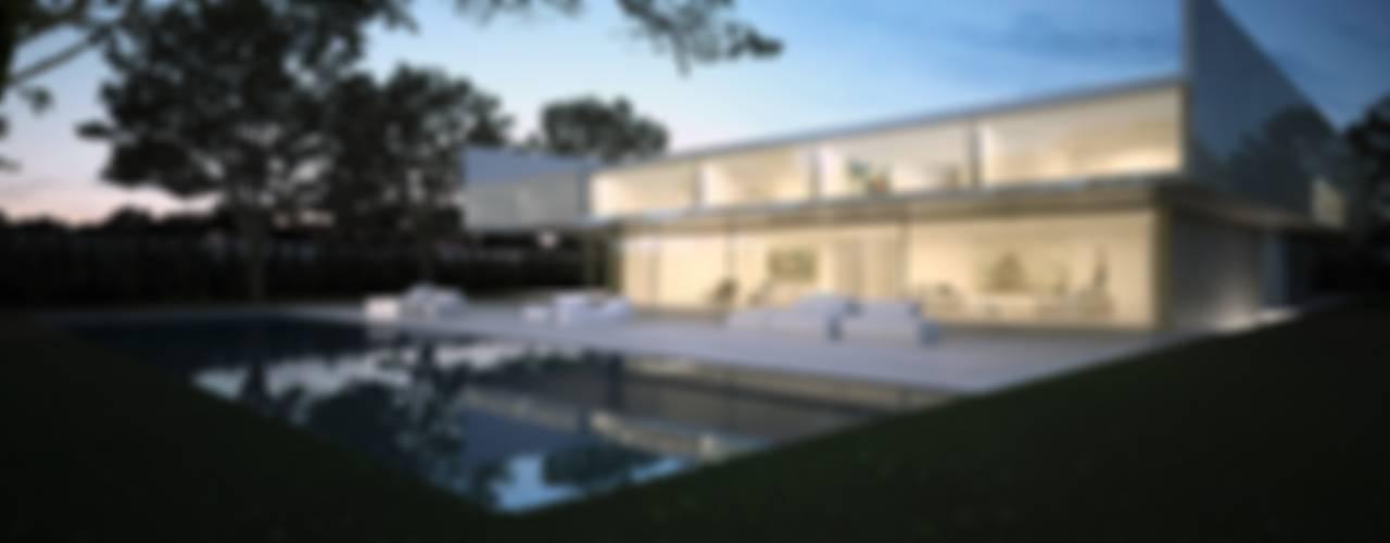 Casa de Aluminio Casas de estilo minimalista de FRAN SILVESTRE ARQUITECTOS Minimalista