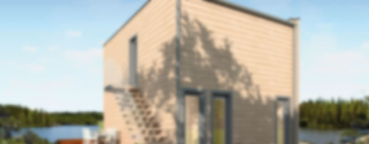od THULE Blockhaus GmbH - Ihr Fertigbausatz für ein Holzhaus Nowoczesny
