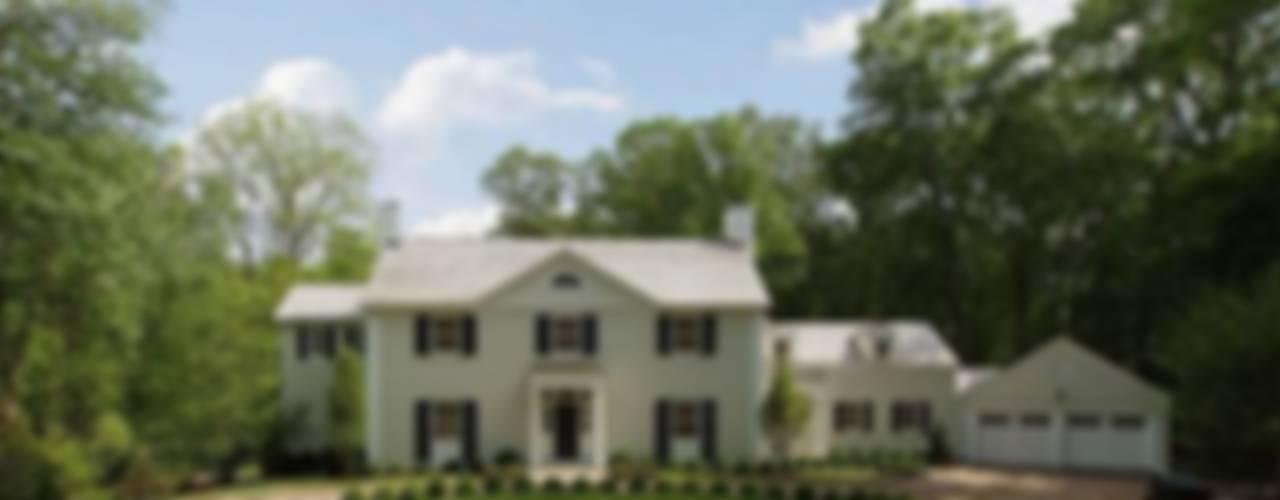 New Canaan, USA Maisons classiques par Lichelle Silvestry Interiors Classique