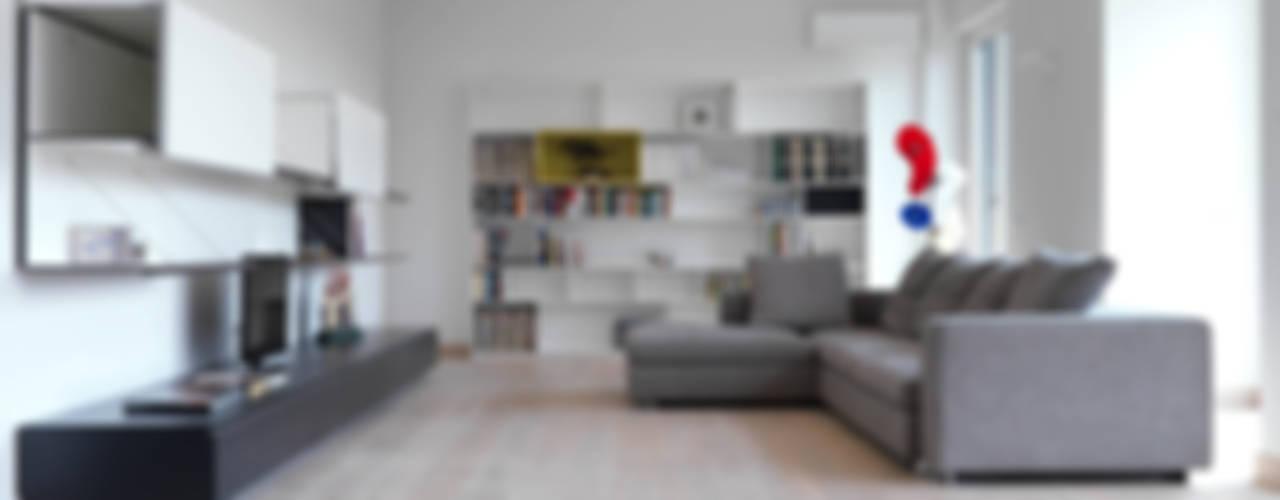 Living room by enzoferrara architetti,