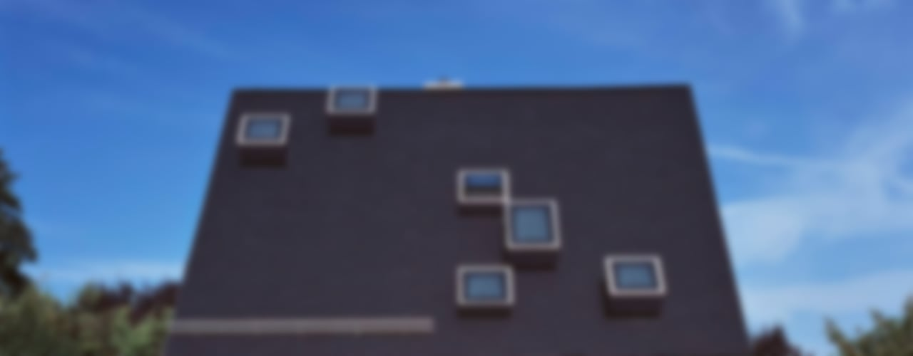 Das schwarze Haus Häuser von Peter Haimerl . Architektur